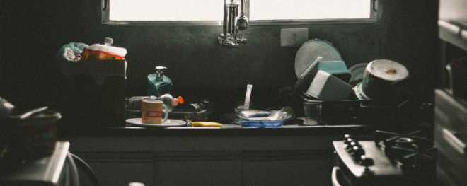 vervuilde keuken ontruimen